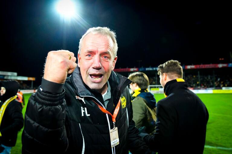 Hans Larsson, sportchef i Mjällby AIF.