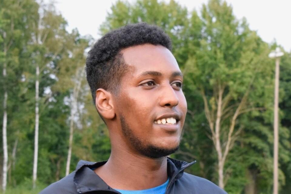 """Abdirahman """"Abdi"""" Ali, 25 år."""