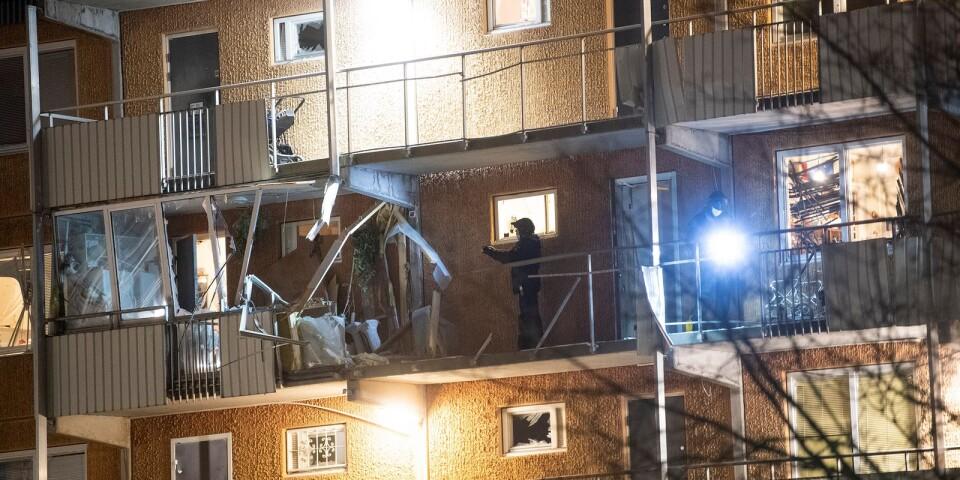 Bombdåd i Husby.