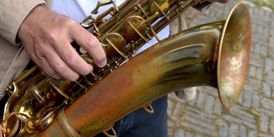 Spåren efter Stan Getz syns tydligt på den vackert patinerade 40-talssaxofonen, som Staffan Mårtensson fick möjligheten att köpa för ett par månader sedan.