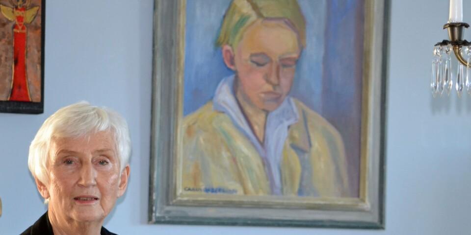 Syskonsjälar. Carin Cassels oljemålning av en 25-årig Bo Setterlind hänger på väggen hemma hos Ulla Liefwendal i Tingsryd. Han sänker blicken och funderar. Själv har hon plockat upp den Växjöfödde poetens dikter och gett dem nytt liv.