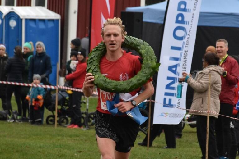 David Nilsson, här som segrare i Finalloppet i Göteborg för ett par veckor sedan, blev bäste europé med sin elfteplats i söndagens NN Zevenheuvelenloop.