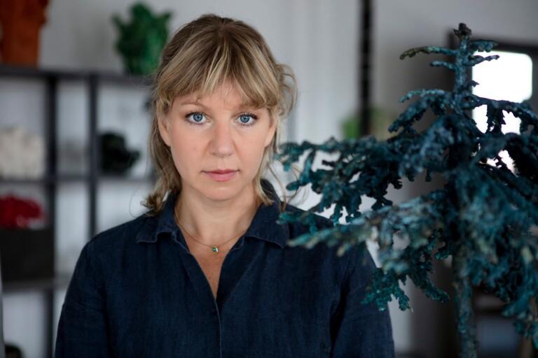 Ellen Ehk Åkesson väntar på ljusning – skulle ställt ut i Paris