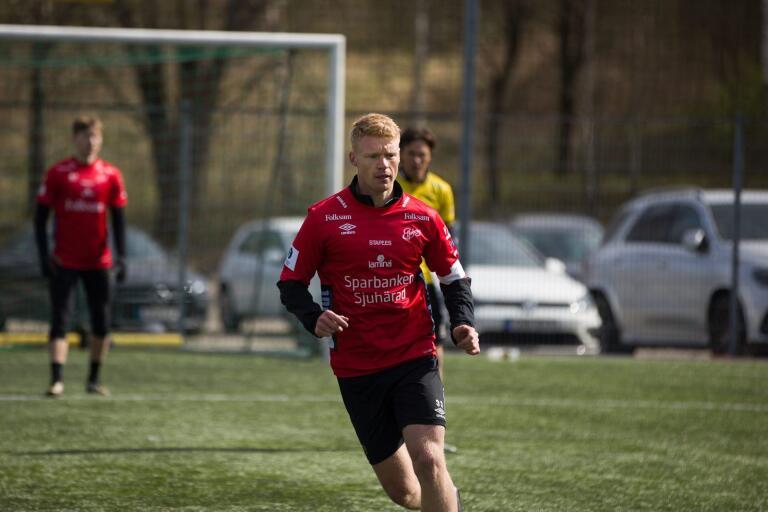 Sivert Heltne Nilsen. Bilden är från tidigare under försäsongen.