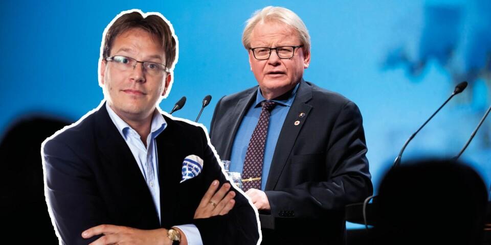 Försvarsminister Peter Hultqvist (S) vill utöka samarbetet med Norge.