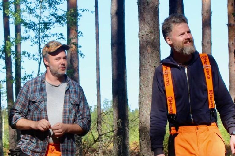 Bröderna bytte skolan och it-världen mot skogen