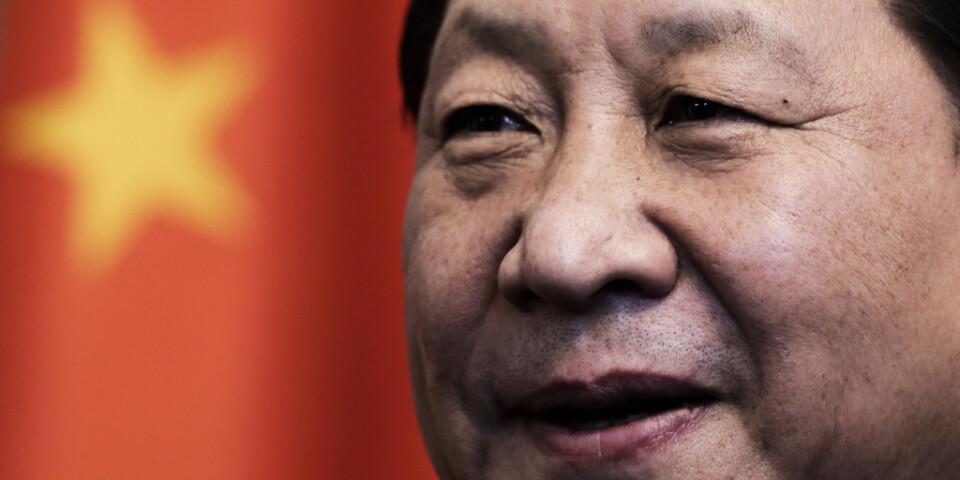 Kinas utrikespolitik har förändrats under Xi Jinpings ledning. Arkivbild.