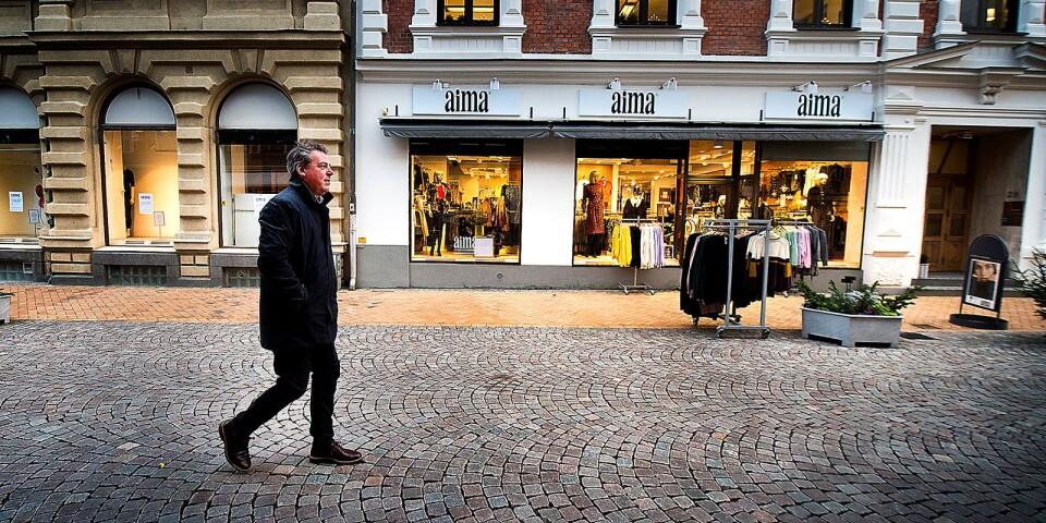 Pierre Månsson, kommunalråd i Kristianstad, svarar olyckskorparna och arbetar vidare med utvecklingen  av centrum