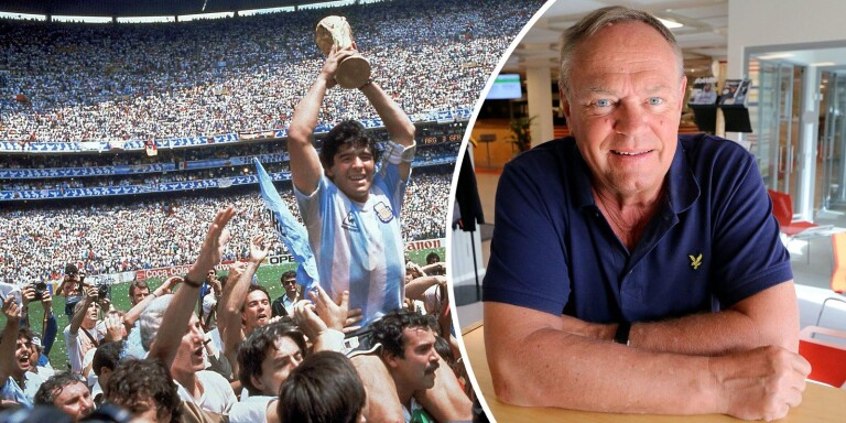 Jan Hansson, före detta sportchef på Borås Tidning, minns Diego Maradonas storhetstid.