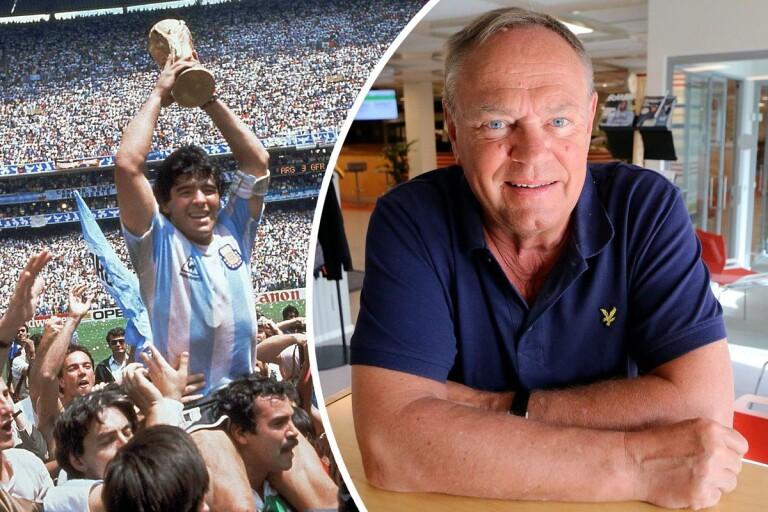 Hansson minns Maradona – berättar om starkaste minnet