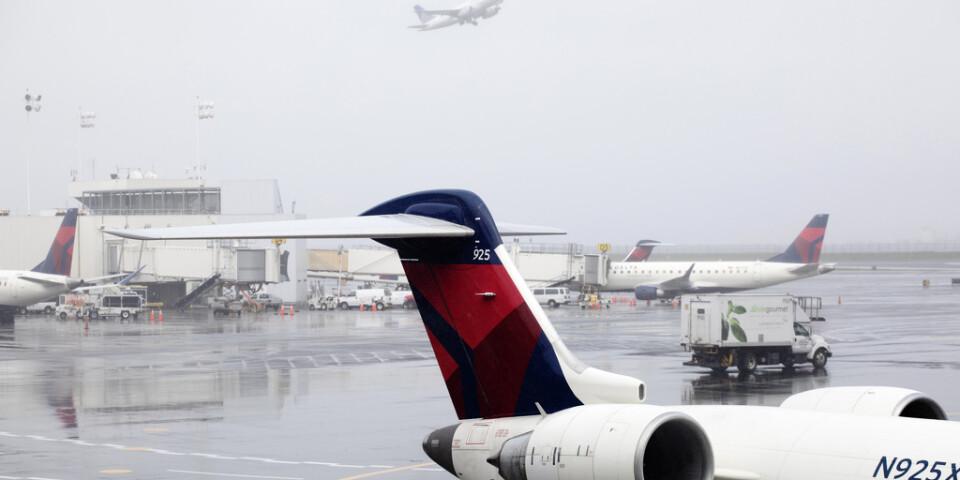 Flygbolaget Delta Airlines ska böta efter att ha diskriminerat tre muslimska passagerare. Arkivbild.