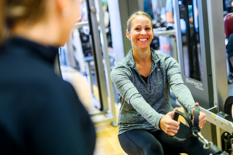 "Anna Nilsdotter: ""Har inget gym"""