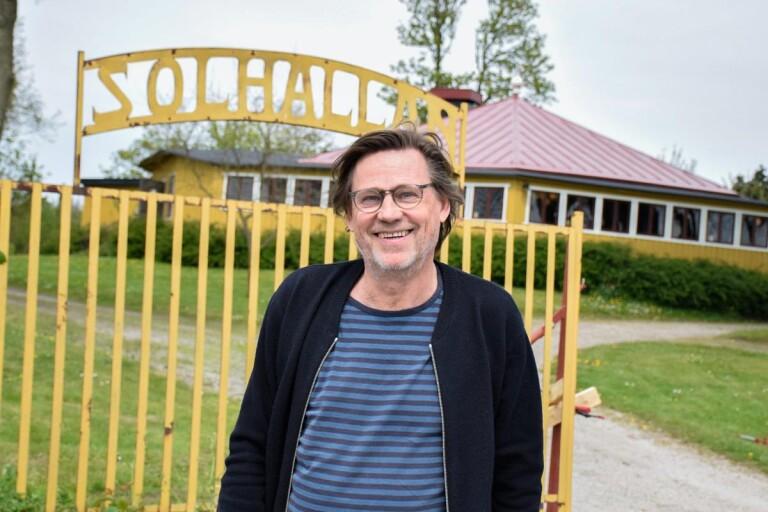 Artisterna flockas till Solhällan
