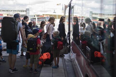 Kollektivtrafik: Flera larm om trängsel