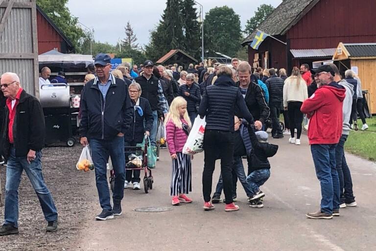Trots utebliven skördefest – mycket folk på Öland