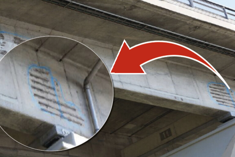 """Armeringsjärn sticker ut ur Ölandsbron: """"Behöver inte vara orolig"""""""