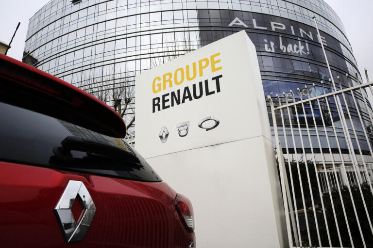 Renaults huvudkontor i Bolougne–Billancourt utanför Paris. Arkivbild.