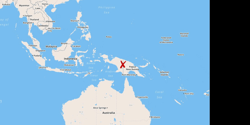 Papua Nya Guinea rapporterar nya coronafall.