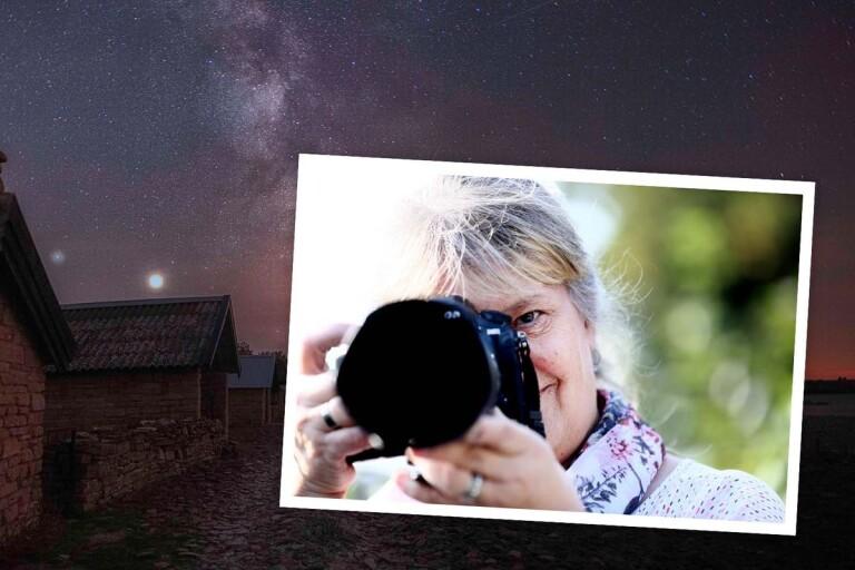 Bildspel: Stjärnfotografen trivs bäst ensam på natten