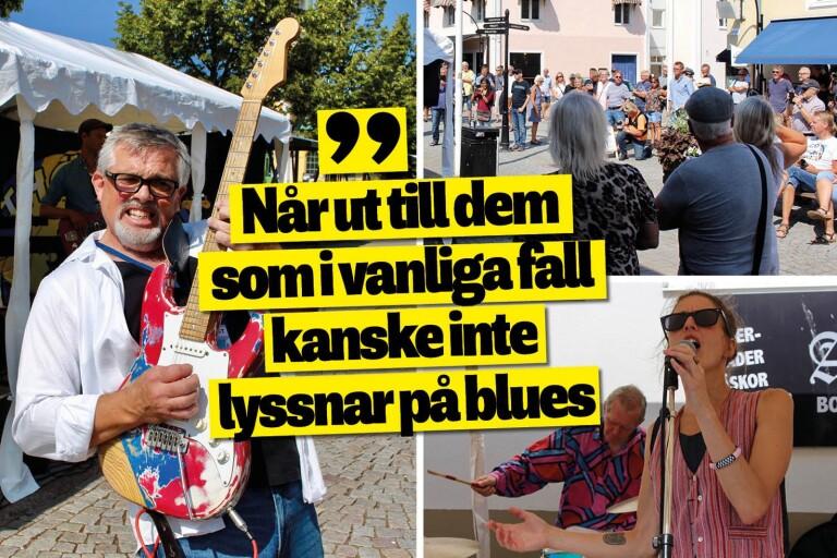 Besökare bjöds på blues'n'roll när det tävlades i Borgholm