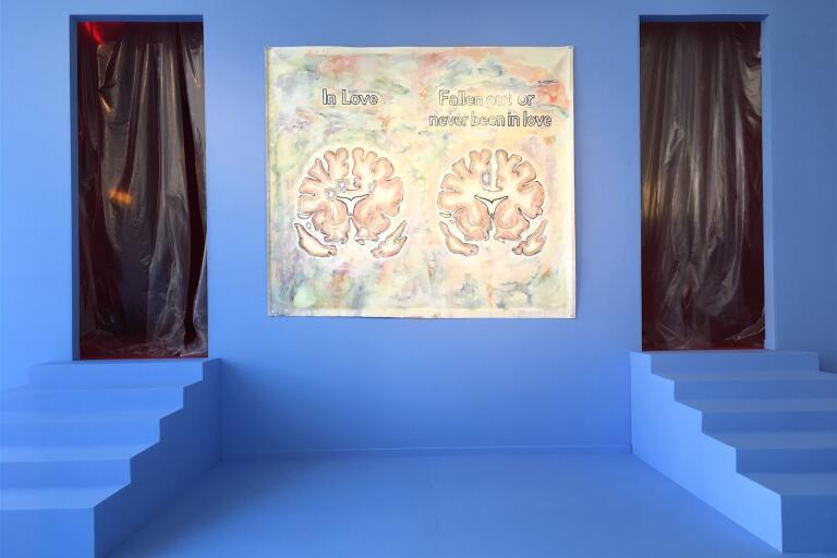 Den dubbla entrén ingår i Ellen Angus utställning.