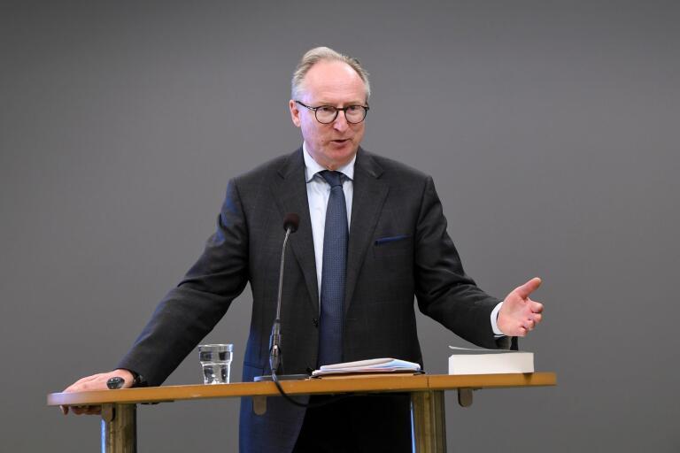 Utredaren Gudmund Toijer presenterar förslagen till förändrat arbetsskydd.