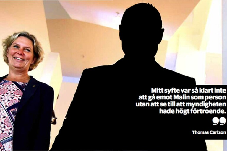 Carlzon ville avsätta Almqvist – tvingades backa