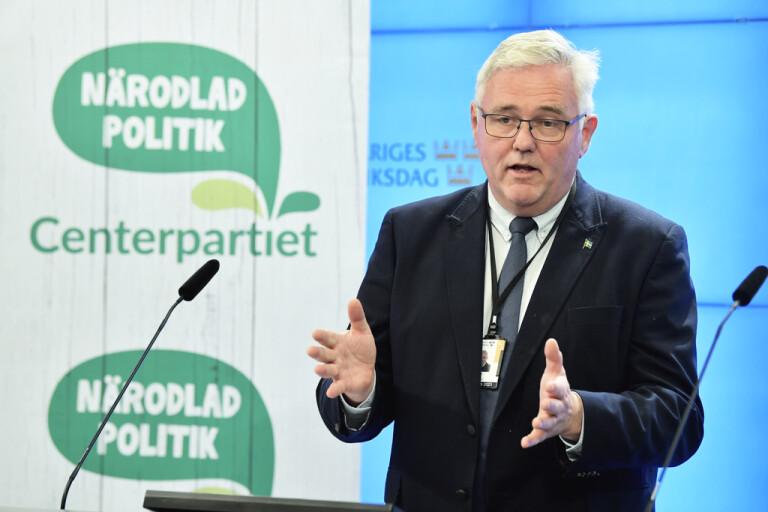 Centerpartiets sjukvårdspolitiske talesperson Anders W Jonsson. Arkivbild.