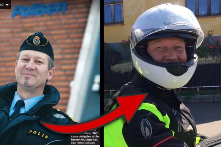 """Åhus stationschef blev trafikpolis: """"Det blev en ganska rörig tid"""""""