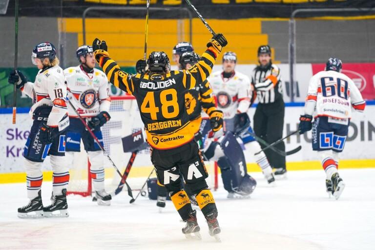 Växjö Lakers föll i Skellefteå
