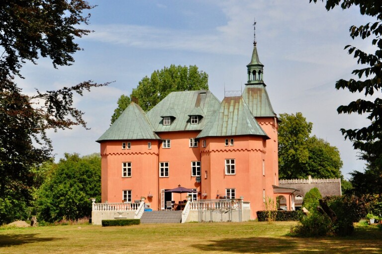 Gärsnäs slott är till salu