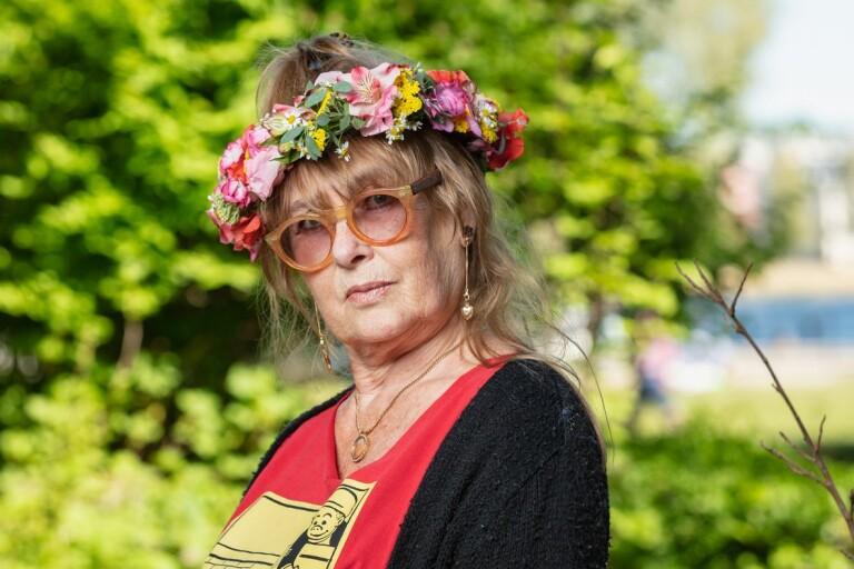 Både tårar och leenden när Marie-Louise Ekman berättar om Göstas sjukdom