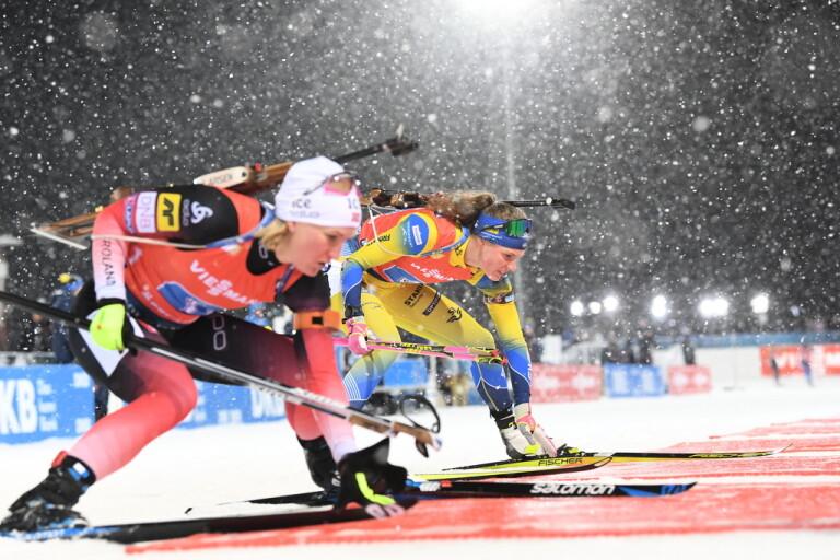 Sverige förlorar världscuptävling i Östersund