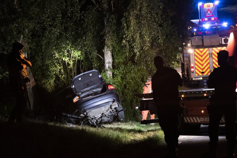 Tre döda i singelolycka i Svedala