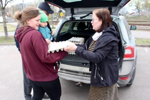 Uppsving för närodlad mat - folk vill handla utomhus