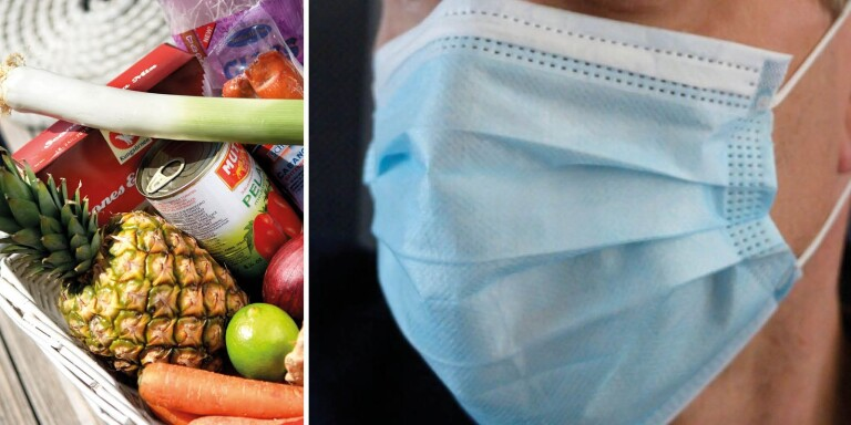 """Bar munskydd i matbutiken – blev hotad av annan kund: """"Ofattbart"""""""