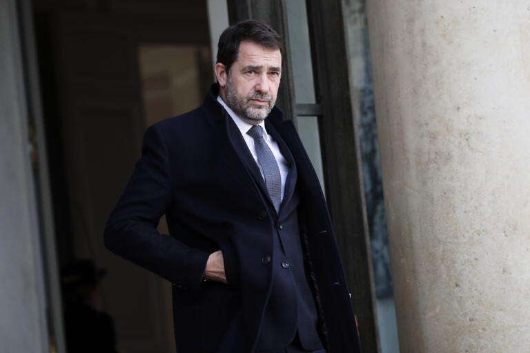 """Frankrikes inrikesminister Christophe Castaner kallar skådespelaren Camelia Jordanas uttalanden om rasism inom polisväsendet """"skamliga och lögnaktiga"""". Arkivbild."""