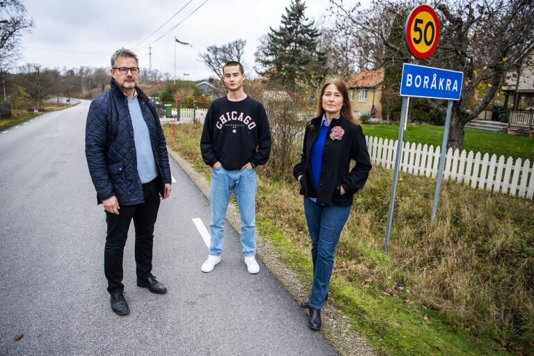 Familj i Boråkra saknar fiber - ber ministern om hjälp