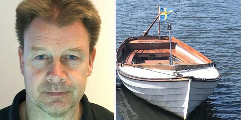 Karlskronapolisen gick på måndagskvällen ut med namn och bild på den försvunne mannen, och en bohusjolle som man tror har koppling till försvinnandet.