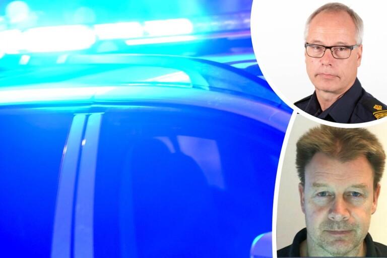 Polisen fortsätter att leta efter Mikael, 57 – på land