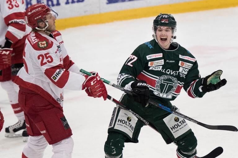 Hannes Johansson, här i Tingsrydströjan, gör debut för Karlskrona redan på lördagen.