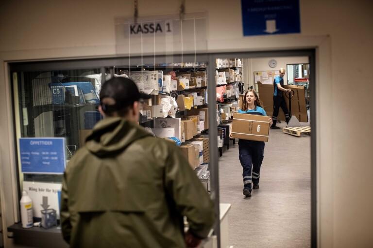 Så hanterar Postnord förväntade explosionen av paket inför jul