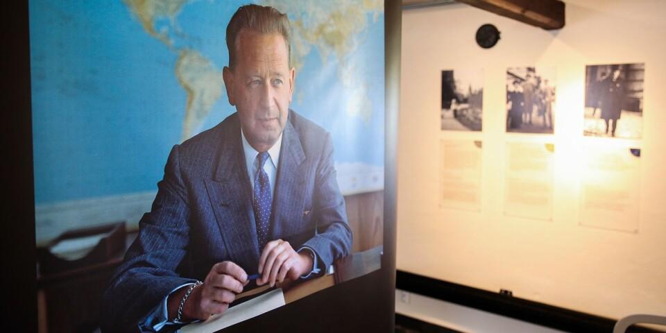 Dag Hammarskjöld var FN:s generalsekreterare från 1953 fram till 1961 då han omkom i en flygolycka i Nordrhodesia.