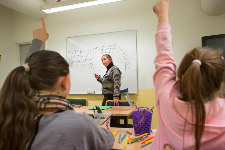 """Personalläget är ansträngt inom skolan: """"Som under värsta vinterkräksjukan"""""""