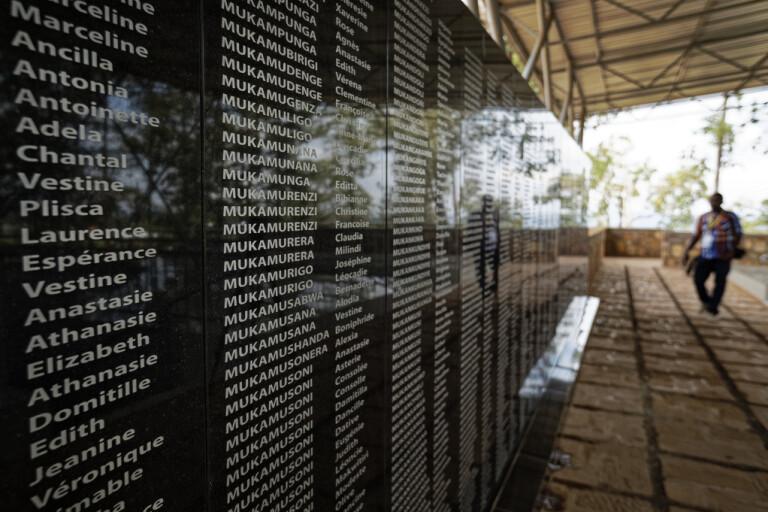 Man anhållen för folkmord i Rwanda