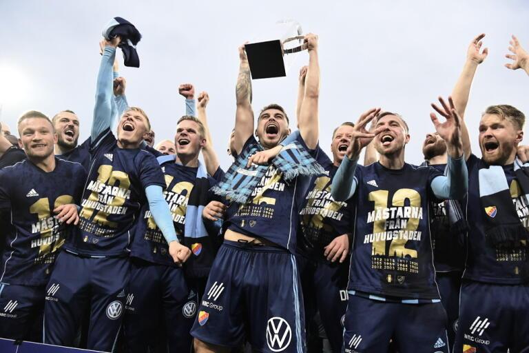 Svenska mästarlaget Djurgården inleder säsongen borta mot Sirius. Arkivbild.