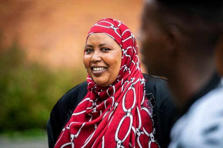 Från dödshot i Somalia till svenska koder i Sölvesborg
