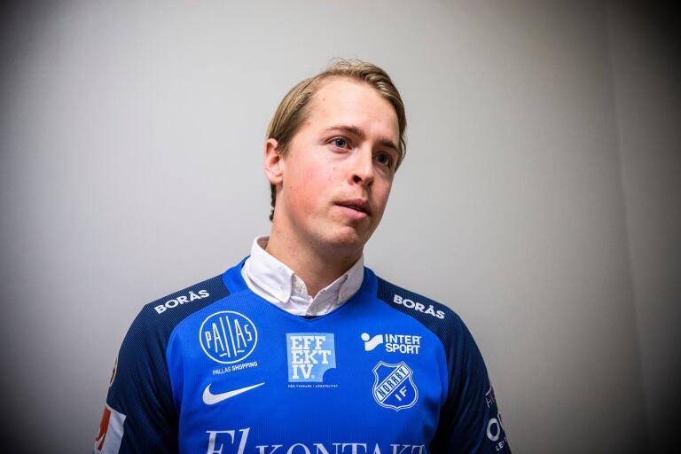 Robin Strömberg, 27, har gjort 41 mål på två säsonger för Ljungskile i Division 1.