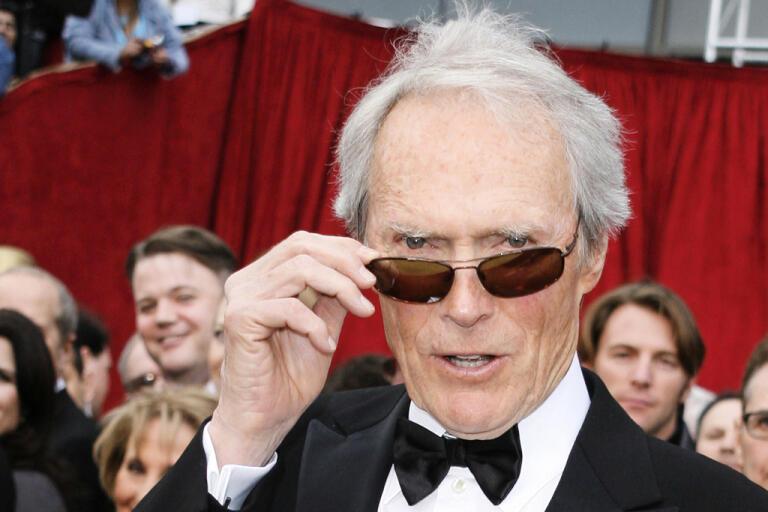 Lennie Niehaus, som skrivit musiken till många av Clint Eastwoods filmer, är död. Arkivbild.
