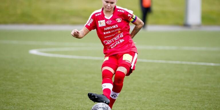 Moa Glans, fotbollsspelare i Bergdalens IK och futsalspelare i IFK Göteborg.